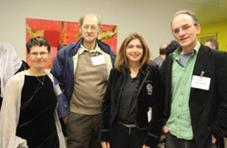מפגש שלישי של מועדון הידידים והבוגרים מרץ 2013