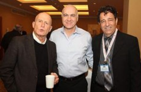 """פורום בכירי המשק של אוניברסיטת חיפה בהשתתפות ראש השב""""כ יעקב פרי 2013"""