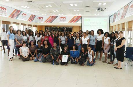 טקס סיום שנה של תוכנית דלתא לעידוד אקדמי של סטודנטים בני העדה האתיופית